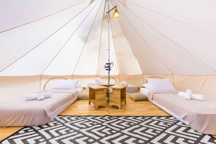 Serenity in our tents